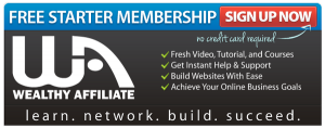 Wealthy Affiliate Free Started Membership
